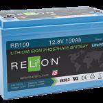 Relion RB100 litium akku Flinkenberg
