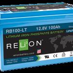 Relion RB100-LT litium akku Flinkenberg