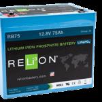 Relion RB75 litium akku Flinkenberg