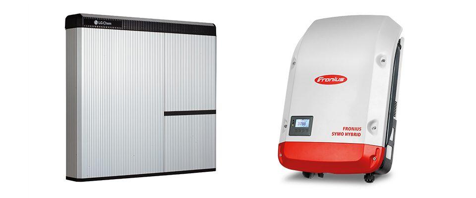 LG Chem Resu yhteensopiva Fronius Symo Hybridin kanssa