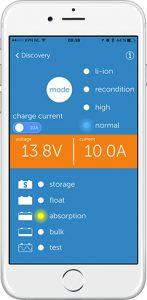 screenshot 12V 10A Blue Smart IP65 Charger